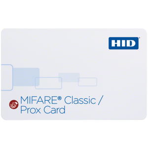 350x SIO® Technology-Enabled MIFARE + Prox Card