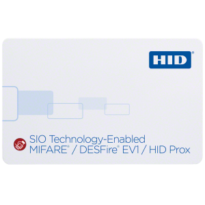 38xx SIO-Enabled MIFARE DESFire EV1 + Prox Card