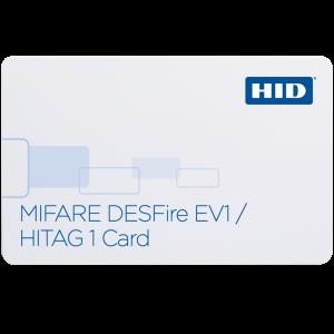 1451x MIFARE DESFire™ EV1 + HITAG1 Card
