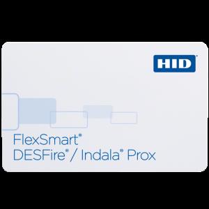 FPDXI FlexPass® DESFire / Indala® Prox Combo Card