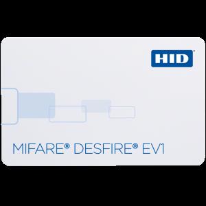 1451 MIFARE DESFire EV1 / HID Prox Combo Card
