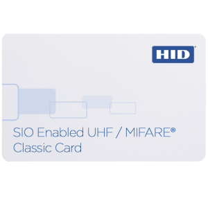 603X SIO®-enabled UHF/MIFARE® Classic Card