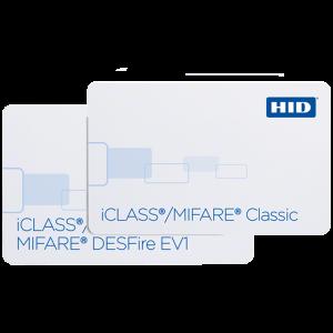 232, 242 & 243 iCLASS + MIFARE Classic or MIFARE DESFire EV1