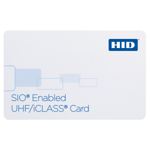 601X SIO® Enabled UHF/iCLASS® Card