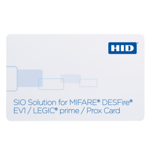 HID® SIO Solution for MIFARE®/DESFire® EV1 + LEGIC prime 1024 + Prox Card 292/295