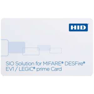 HID® SIO Solution for MIFARE®/DESFire® EV1 + LEGIC prime 1024 293/296